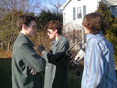 Ben, Tom, Ryan (Comradical Productions) Tags: film lawn crew mower comrade productions mowed comradical