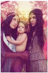 mama hunt, harper lee, and sara (blackmoonbobo) Tags: light sun sisters vintage texas sunday fabric alexandra bond psychedelic wimberley sheer valenti