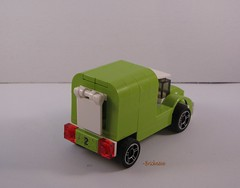 Limeade Delivery Truck Back View 1