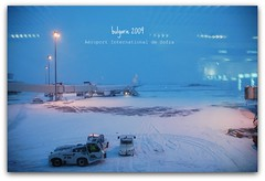 Aroport Sofia International (meirystereoclic) Tags: snow airport nikon d70 bulgaria bulgarie