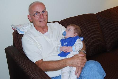 Adam with Poppy