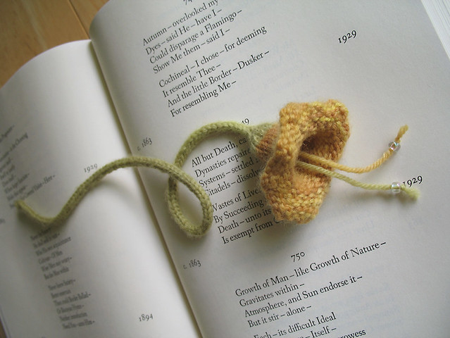 Squash Blossom Bookmark