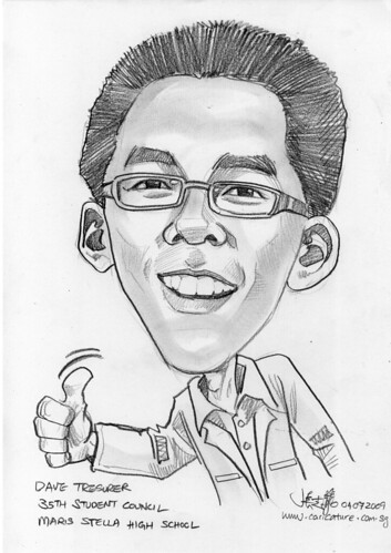 Caricature for Maris Stella High School -8
