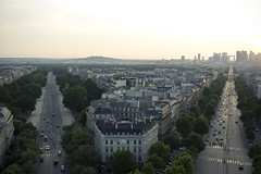 5275 (ricky nyhoff) Tags: sunset paris 20d canon ladefence frace 2470mm28l topofarcdetriumph