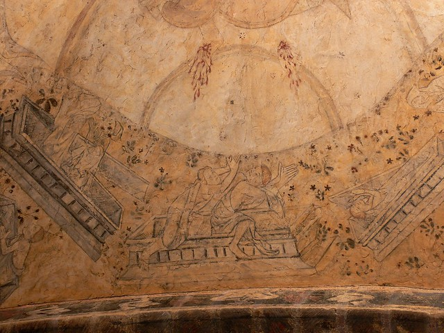 Medieval Fresco Last Judgment France