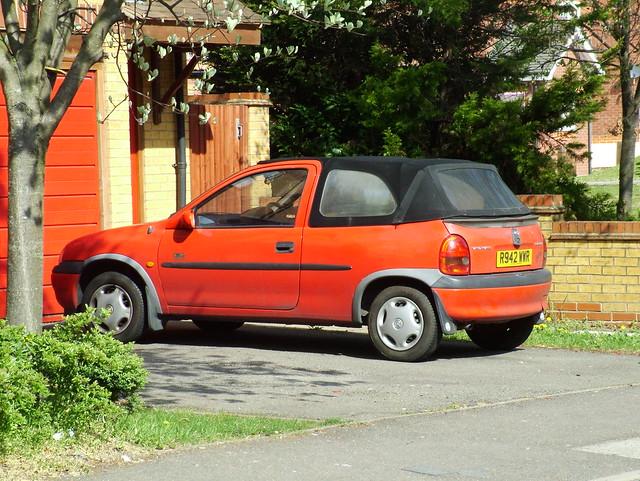 1998 Vauxhall Corsa 1.4i Convertible