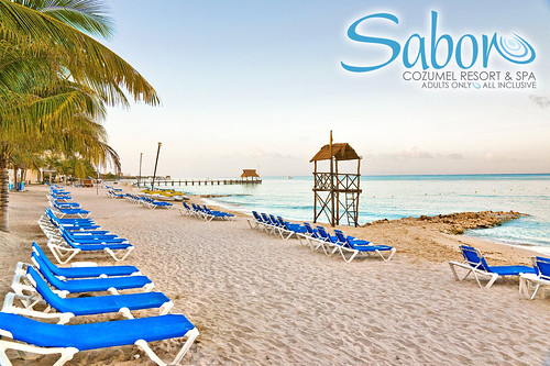 The Beach at Sabor Cozumel Resort & Spa. www.saboresorts.com Our adults only ...