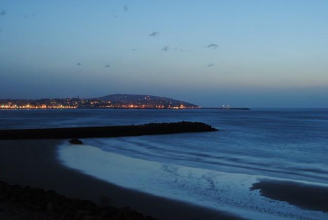 Nightfall in Tangier