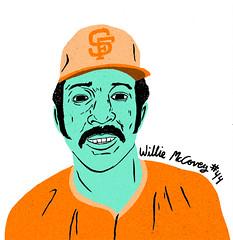 Willie McCovey (paulzilla) Tags: stretch williemccovey 70sbaseballdude