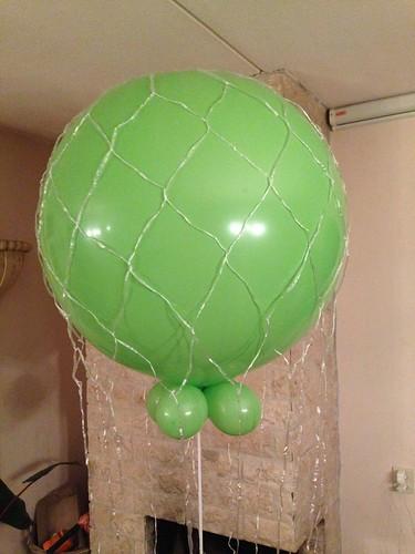 Cloudbuster Rond Limegroen met Ballonnet