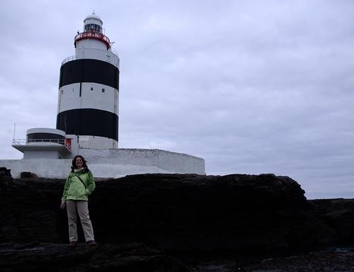 Anita and Hook Head lighthouse