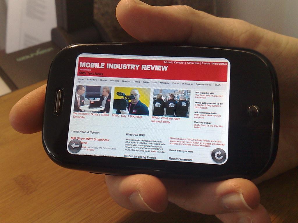 Pre Platform Strategy (Palm Pre & Mobile platforms)
