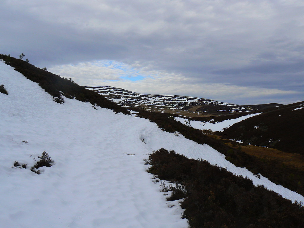 The track to Morven