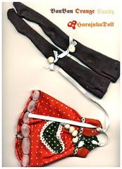 BonBon Orange Candy-Details (HarajukuDoll by killingsissy) Tags: bjd couture msd unoa minifee dollzone latiblue dollfashion bjdclothes