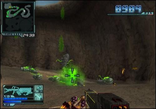Onslaught Wiiware review screenshots