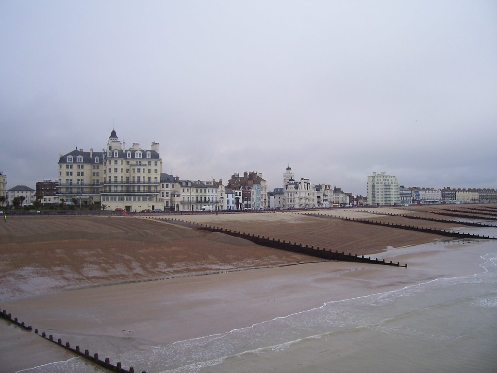 Eastbourne, seen from the pier
