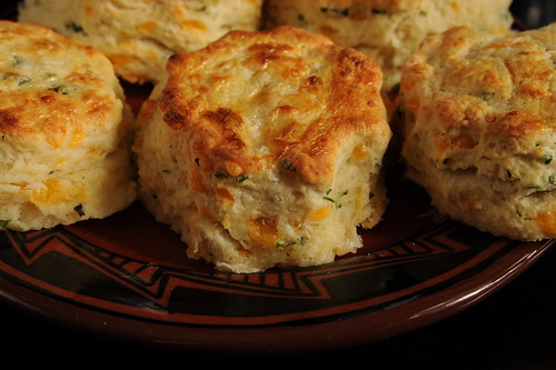 Savory Cheddar Scones using Basic Scone Mix