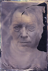 Dave. (Witness to Light) Tags: uk portrait glass negative ambrotype wetplate alternative alternativeprocess altprocess collodion wetplatecollodion witnesstolight