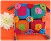 Festa, travesseirinho perfumado (Lidia Luz) Tags: square handmade crochet afghan granny sachet crochê travesseirinho lidialuz