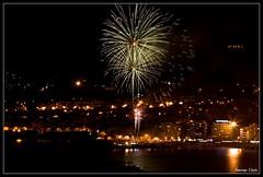 Carnaval '09 - Entierro de la sardina (Santiago Ojeda) Tags: longexposure carnival night fireworks playa carnaval fuegosartificiales entierro lascanteras largaexposición laspalmasdegc entierrodelasardina