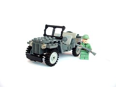 Jeep Willis (pitrek02) Tags: world town war jeep 4x4 trial willis moc kmfl iiww lugpol