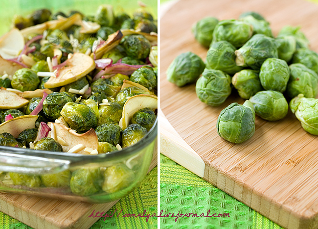 Roased brussel sprouts (smaller)