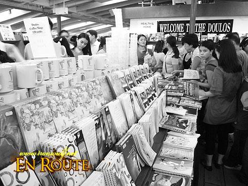 MV Doulos in Manila Bookstore