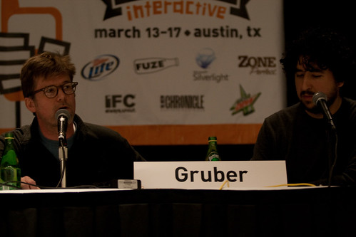 Mann and Gruber - South by Southwest Interactive 2009