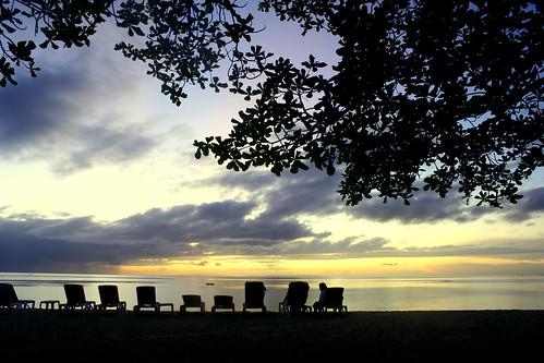 sunset over Alegre