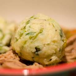 Spring Onion and Chives Mash