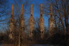 Steam Plant A (k.landerholm) Tags: minnesota entropy ruins flickr decay historic twincities stacks gow rosemount dakotacounty umorepark gopherordnanceworks steamplanta