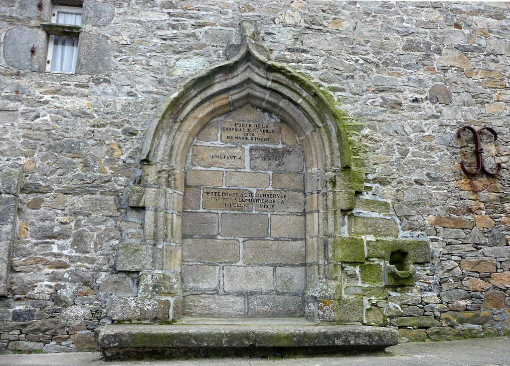 Roscoff - Porte de la Chapelle St Ninien