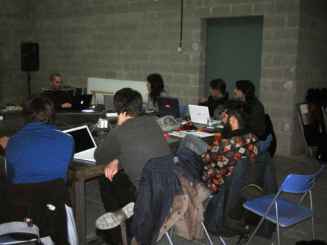 Generative music workshop @ Hangar