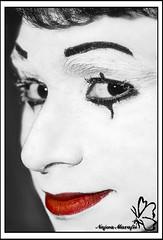 Mime (Najwa Marafie - Free Photographer) Tags: portrait 2008 2009 najwa marafie