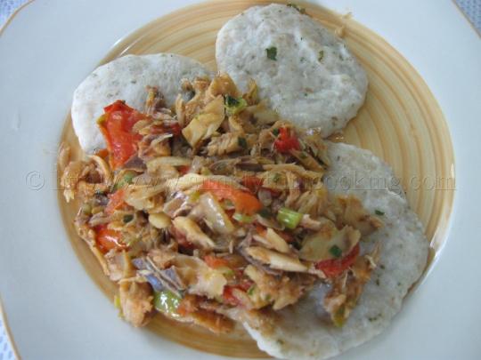 Dumpling and Saltfish