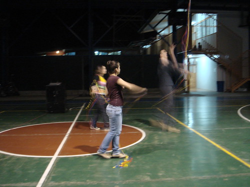Jugando con el cometa. San Agustín, Palmares.