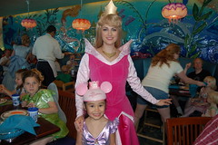 Amanda with Princess Aurora