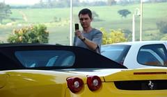 Ferrari F430 Spider (Biscuit in Pursuit) Tags: trees grass brasil shopping ferrari sp outback campinas v8 steakhouse 430 iguatemi f430spider giallomodena
