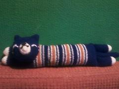 El gato azuloso. (Ani Lidia) Tags: happy gato poop amigurumi medusa torta pulpo osito
