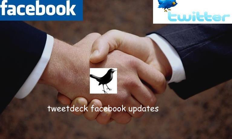 twitter and facevook updates