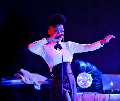 Janelle Monae, SXSW, March 18, Stubbs BBQ