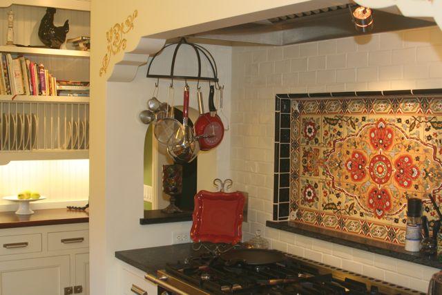 Beautiful Spanish Style Kitchen Backsplash Ib83 Roccommunity