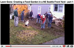 Youtube Video - Garden work party