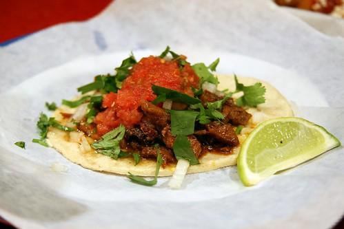 Beef Taco @ Pinches Tacos, LA