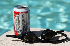 Budweiser (sundaweibuaa) Tags: pool swimming 50mm 18 budweiser camelback