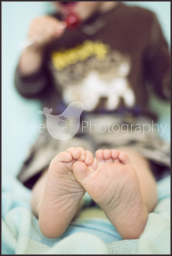 my little dudes feet :)