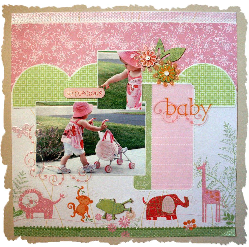 'Precious Baby' Layout