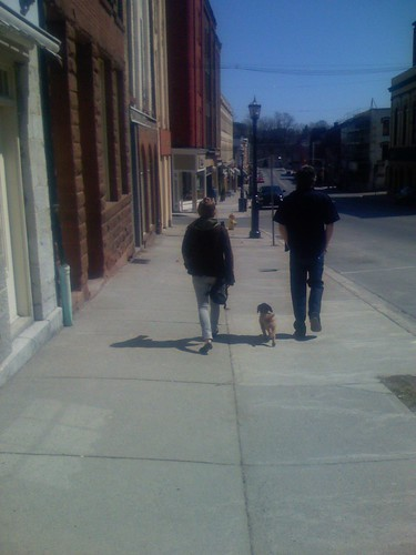 bright day in Port Hope
