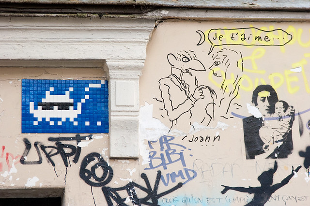 Space Invader @ Paris et Joann Sfar le Grand ! - R.I.P.