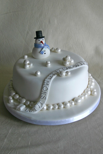 Christmas Cake - Let it Snow, Let it Snow, Let it Snow